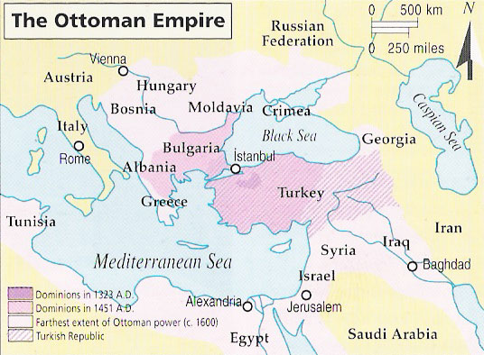 when did the ottoman empire begin and end 2