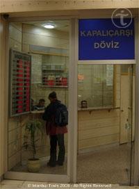 Exchange Office (Döviz) in Istanbul