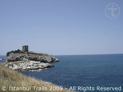 Video of Şile, a holiday village by the Black Sea in Istanbul, Turkey