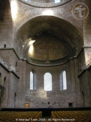 The apse of the Haghia Eirene in Istanbul, Turkey.