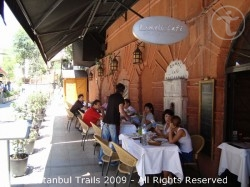 The Rumeli Café restaurant in Sultanahmet