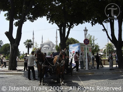 Video of Sultanahmet in Istanbul, Turkey.
