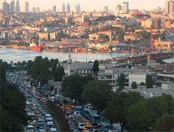 Istanbul has a very diverse (public) transportation network.