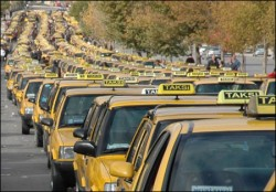Istanbul taxis may take alternative roads to avoid traffic jams.