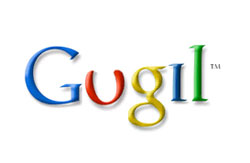 Google written according to Turkish spelling rules.