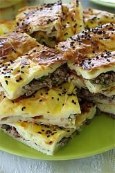 Plate of börek