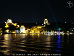 Picture of the Fortress of Europe (Rumeli Hisarı) in Istanbul, Turkey.